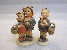 M I Hummel figurine #94 3/0 SUPRISE And  Village Boy 51 3/0 GERMANY