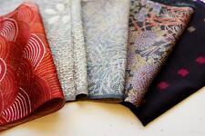 Japanese silk kimono Fabric | Patchwork Lot 521 | Vintage | valued pack|