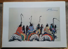 "EARL BISS ""SPOTTED GANG "" LTD ED LITHO HAND SIGNED BY ARTIST UNFRAMED"