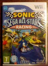 SONIC & SEGA ALL STARS RACING pour Nintendo Wii  ** NEUF **