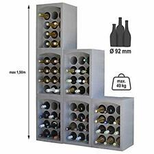 Mango Steam Porte-bouteilles pour 32 bouteilles de vin
