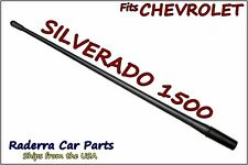 "Fits: 2006-2018 Chevy Silverado 1500 - 13"" Short Flexible Rubber Antenna Mast"