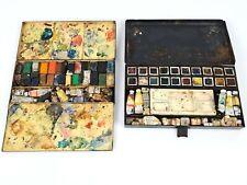 Two Vintage Winsor & Newton Artists Watercolour Paint Tins      |5