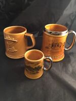 Lord Nelson Ware Widecombe Fair Belchamps Scout Camp Blenheim Palace Tankards