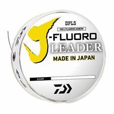 Daiwa J-Fluoro Fluorocarbon Leader 100 yards ~ Select lb. Test ~