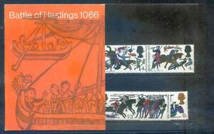 Great Britain 1966 Battle of Hastings presentation pack, fine (2020/07/19#15)