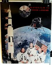 NASA Apollo 11 Vintage Poster