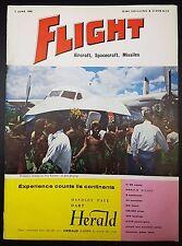 Flight Magazine, Aircraft Spacecraft, Missiles- 3 June 1960