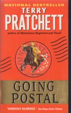 Going Postal - Terry Pratchett - VG+ Unread Paperback