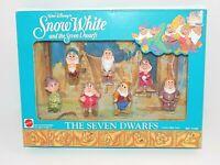 Disney's The Seven Dwarfs Play Set #5184 Walt Disney's Snow White & the 7 Dwarfs