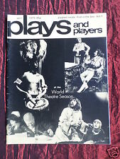 PLAYS AND PLAYERS - UK THEATRE MAGAZINE - APRIL 1975 - BILLIE WHITELAW
