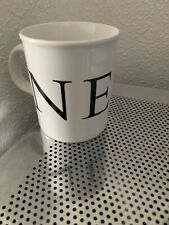 NEXT Ceramic Mug Collectable Advertising Used Unwanted Shop Simple Logo Work