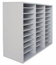 Fächerschrank mit 30 Fächern A4 -  Büroschrank Ablageschrank Büromöbel Schrank