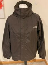 Mens Brown The North Face Hyvent Hooded Zip Jacket / Coat - Size Large (L) J49
