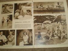 Photo article British High society in Jamaica 1950 ref K