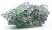 Fluorite with Black Tourmaline, Erongo Mountains, Erongo Region, Namibia E489