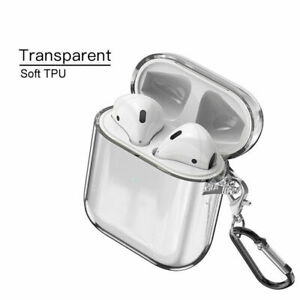 For Apple AirPods Pro 3 2 1 Clear Crystal Case Airpod Soft TPU Cover Protector