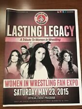 LASTING LEGACY: 1ST EVER TRIBUTE TO WOMEN IN WRESTLING COLLECTIBLE PROGRAM