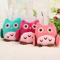 1PCS Lovely Cute Owl Plush Fabric Toy OWL  Wedding Gifts Kids Birthday Gift