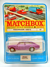 Matchbox RW 67B VW 1600TL rare Veraion in metallic lila top im Blister