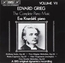 Grieg: Complete Piano Music Volume VII / Eva Knardahl - CD