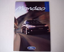 Mondeo 1998 Car Sales Brochures