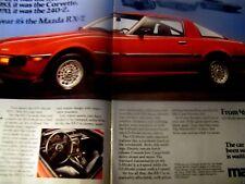 1979 Mazda GLC Rx-7 Classic Advertisement Ad P43