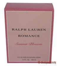 Ralph Lauren Romance Summer Blossom Edp Spray 3.4oz/100ml For Women New In Box