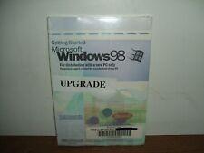 Microsoft Windows 98 Upgrade !SEALED! w Product Key PC Desktop Laptop Gateway