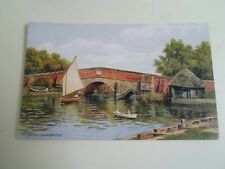 A R QUINTON Postcard 3516 Potterheigham Bridge, Norfolk Postally Unused   §A1929