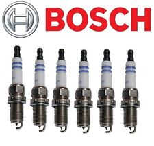 6pc - Bosch 9607 OE Iridium Fine Wire Spark Plugs Set Pre-Gapped, Audi BMW