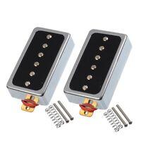 Les Paul P90 Electric Guitar Pickup Humbucker Set Neck Bridge Magnet Ceramic Bar