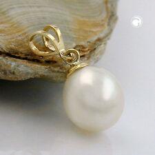 Halsketten und Anhänger aus Gelbgold für besondere Anlässe Zucht-Perlen-Sets