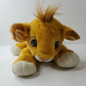 The Lion King Plush Mattel Authentic Baby Simba Cub Stuffed Disney 1993 Thailand