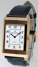 Jaeger LeCoultre Grande Reverso 18k Rose Gold Watch Box/Papers NEW Q3732523