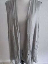 JOIN CLOTHING WAISTCOAT GREY/WHITE ONE SIZE NEW TAGGED