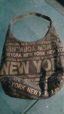 Robin Ruth NEW YORK,  NEW YORK large hobo VEGAN tote....
