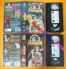 2 VHS film CRYING FREEMAN Chapter 1  2 1993 animazione MANGA VIDEO (F31) no dvd