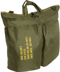 "Classic Flyers Helmet Bag Padded Water Resistant Military Army Type 19"" x 19"""
