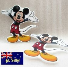 Plastic Flatback Planar Resin Embellishment -Mickey Mouse - 2 Pack - for DIY