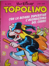 Topolino n°1675 [G.273] - BUONO –