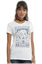 Nwt Alice In Wonderland Hot Topic Tarot Card White T-Shirt Size L Large Disney