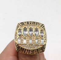 1994 SAN FRANCISCO 49ERS Super Bowl Championship Ring 18k GP. Size 11 *USA*