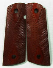 New wood Diamond grips For Colt 1911 Full Size, Government, Clone, Kimber