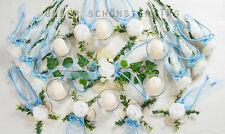 25-tlg. Tischdekoration hellblau Hochzeit Taufe Kommunion Tischdeko TD0061(4)