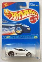 1995 Hotwheels Jaguar XJ220 White Pearl Drivers Variant! Mint! Very Rare! MOC!