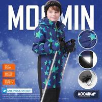Moomins Kids Boys Ski Suit Snow Suit All in one piece Snowboard Set Waterproof