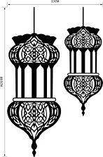 Islamic wall sticker Fashion Decoration Muslim Bismillah Quran Calligraphy home