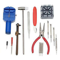 16X Watch Repair Tools Kit Wrist Spring Pin Strap Link Back Opener Remover Tool
