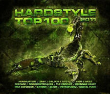 Various Artists : Hardstyle Top 100 CD (2011) ***NEW***